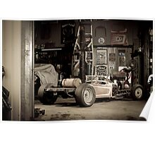 Paul's Rat Rod Poster