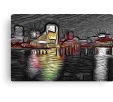 Cleveland Lake View Canvas Print