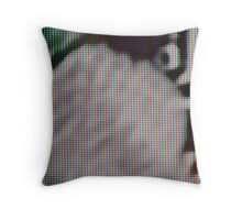 Macro Plasma TV Throw Pillow