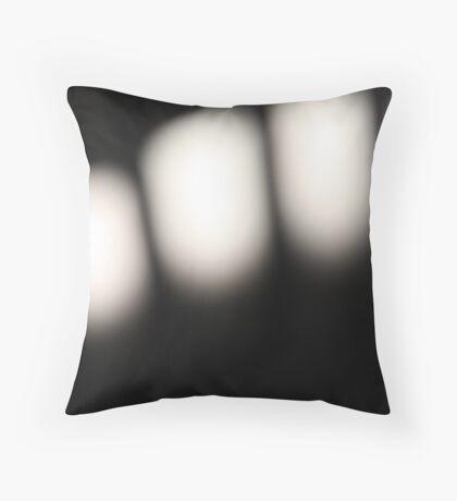 Abstract Shadows Throw Pillow