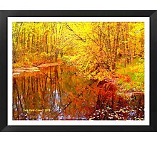 Multi-Colored Michigan - (Framed) Photographic Print