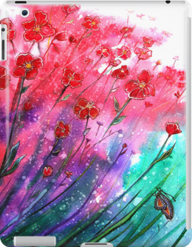 POP ON IPAD CASE by © Linda Callaghan