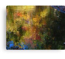 River sprinkles Canvas Print