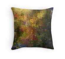 River sprinkles Throw Pillow