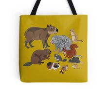 I Am Thankful For Rodents Tote Bag