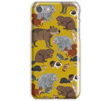 I Am Thankful For Rodents iPhone Case/Skin
