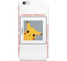 Emergency Defibrillator iPhone Case/Skin