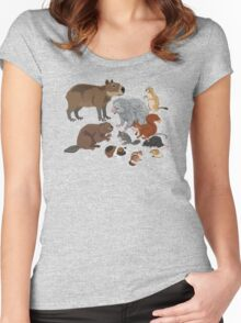 I Am Thankful For Rodents Women's Fitted Scoop T-Shirt