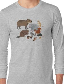 I Am Thankful For Rodents Long Sleeve T-Shirt