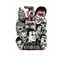 Evil Dead Trilogy Art Print
