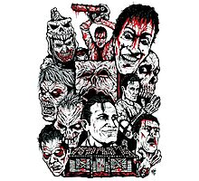Evil Dead Trilogy Photographic Print