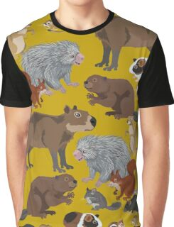 I Am Thankful For Rodents Graphic T-Shirt