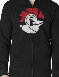 From Pallet Town With Love Zipped Hoodie