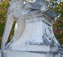 Cemetery Weeping Angel by danalynn
