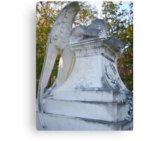 Cemetery Weeping Angel Canvas Print