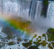 Rainbows over Niagara by MarianBendeth