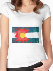 COFlag Women's Fitted Scoop T-Shirt