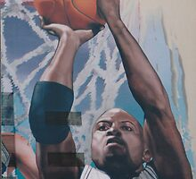 Detail, Glen Rice by jamescassel