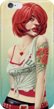 Sexy Redhead by Kate Moon