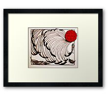 Moulting Framed Print