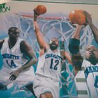 Hornets Mural Painting by jamescassel