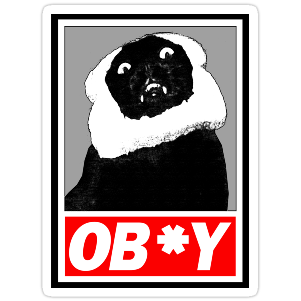 Ob*y breaded cat by lab80