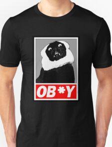 Ob*y breaded cat T-Shirt