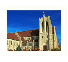 East Side Lutheran Art Print