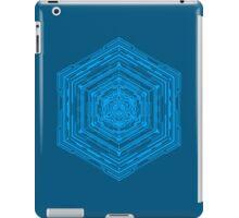 Anatomy of a Cube (Blue) iPad Case/Skin