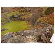 Landsape North Wales Poster