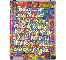 Today, I Am Inspired (iPad Case) iPad Case/Skin