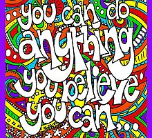 You Can Do Anything (iPad Case) by Sammy Nuttall