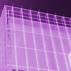 Transparent Cube Grape by artkitecture