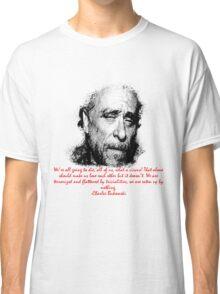 Charles Bukowski circus of life Classic T-Shirt