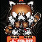 Red panda 1 by Meerkatsu