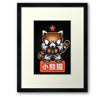 Red panda 1 Framed Print
