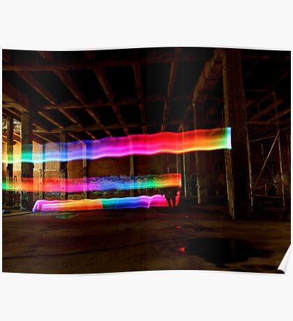 Rainbows everywhere Poster