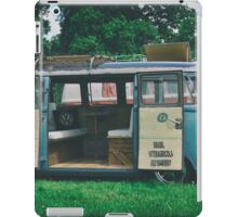 VW Bus Open Door Ploicy iPad Case/Skin