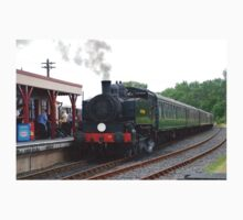 USA Class steam loco, Bodiam Kids Tee