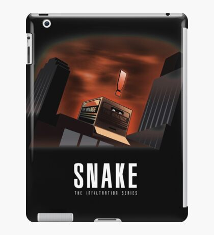 The Infiltration series iPad Case/Skin
