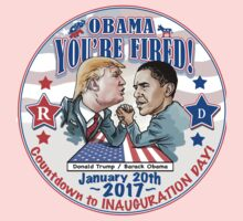 Inauguration 2017 Trump Hired Obama Fired Baby Tee