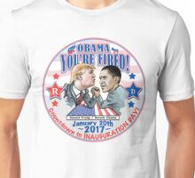 Inauguration 2017 Trump Hired Obama Fired Unisex T-Shirt