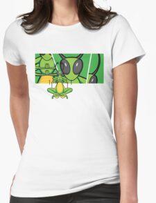 Patient Grasshopper 2 Womens Fitted T-Shirt