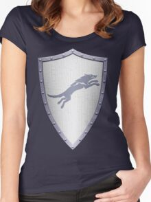 Stark Shield - Clean Version Women's Fitted Scoop T-Shirt