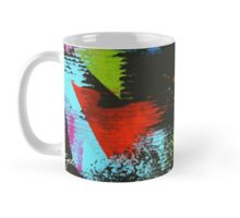 black abstract Mug