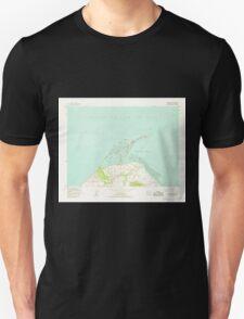 USGS Topo Map Washington State WA Dungeness 240902 1956 24000 T-Shirt