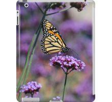 Monarch on Mauve iPad Case/Skin