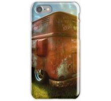 VW van and sunrays iPhone Case/Skin