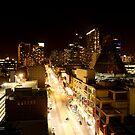 Night LaTrobe St  by myebra