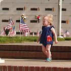 Little Memorial girl on the steps by the57man